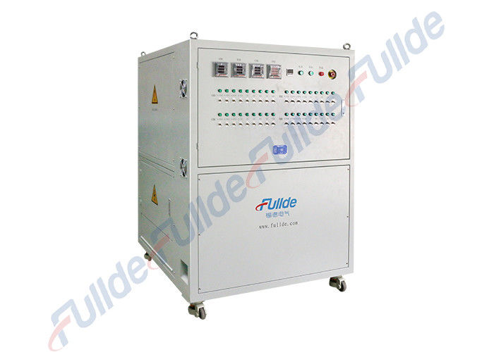 Small 80kw 32VDC Resistive Load Bank For Generator Test Forced Air Cooling